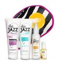 Lotion + szampon + serum + hialuronowa odbudowująca odżywka do włosów HAIR JAZZ - Black Friday