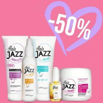 Zestaw Walentynkowy - szampon, lotion, serum, hialuronowa odżywka i maska Hair Jazz