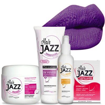 Lotion + szampon + maska + witaminy Hair Jazz - Walentynki
